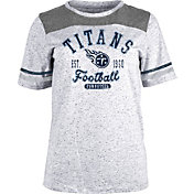 NFL Team Apparel Women's Tennessee Titans Peppercorn T-Shirt