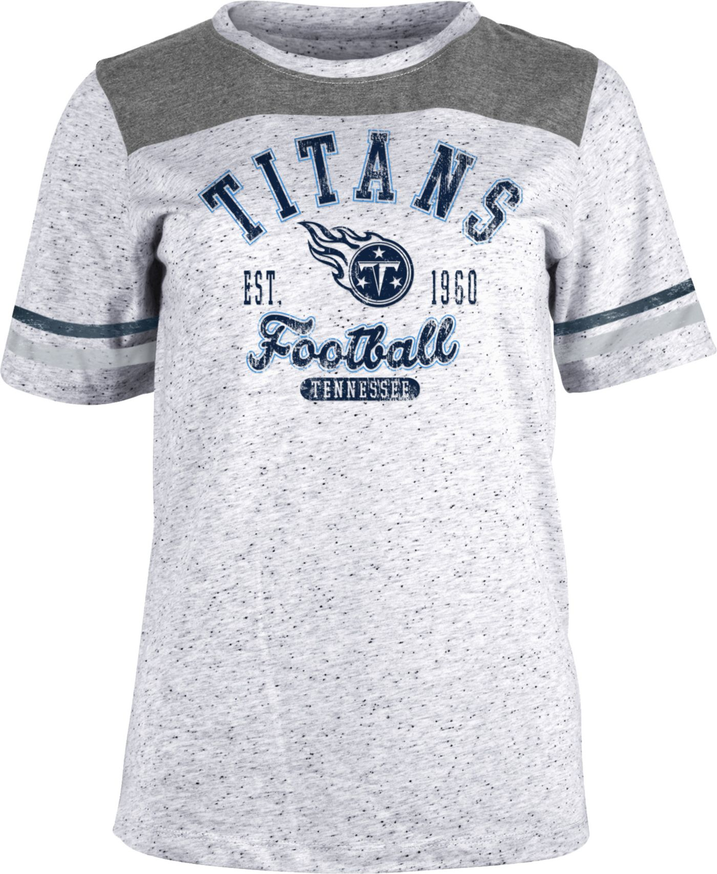 NFL Team Apparel Women's Tennessee Titans Peppercorn T-Shirt