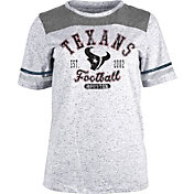 NFL Team Apparel Women's Houston Texans Peppercorn T-Shirt