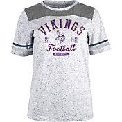NFL Team Apparel Women's Minnesota Vikings Peppercorn T-Shirt