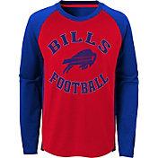 NFL Team Apparel Youth Buffalo Bills Air Raid Long Sleeve Royal Shirt