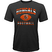 NFL Team Apparel Youth Cincinnati Bengals Big Game Tri-Blend Black T-Shirt