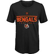 NFL Team Apparel Youth Cincinnati Bengals Ultra Black T-Shirt