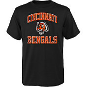 NFL Team Apparel Youth Cincinnati Bengals Power Black T-Shirt