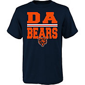 NFL Team Apparel Youth Chicago Bears Da Bears Navy T-Shirt