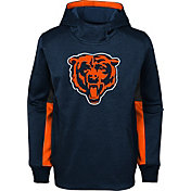 NFL Team Apparel Youth Chicago Bears Status Performance Navy Hoodie