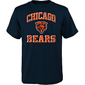 NFL Team Apparel Youth Chicago Bears Power Navy T-Shirt