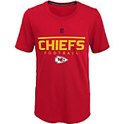 NFL Team Apparel Youth Kansas City Chiefs Ultra Red T-Shirt
