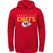 NFL Team Apparel Youth Kansas City Chiefs Pace Set Red Hoodie