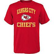 NFL Team Apparel Youth Kansas City Chiefs Power Red T-Shirt