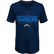 NFL Team Apparel Youth Los Angeles Chargers Ultra Navy T-Shirt