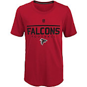 NFL Team Apparel Youth Atlanta Falcons Ultra Red T-Shirt
