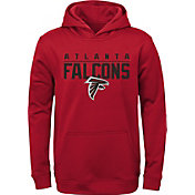 NFL Team Apparel Youth Atlanta Falcons Pace Set Red Hoodie
