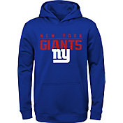 NFL Team Apparel Youth New York Giants Pace Set Blue Hoodie