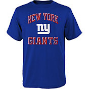 NFL Team Apparel Youth New York Giants Power Navy T-Shirt