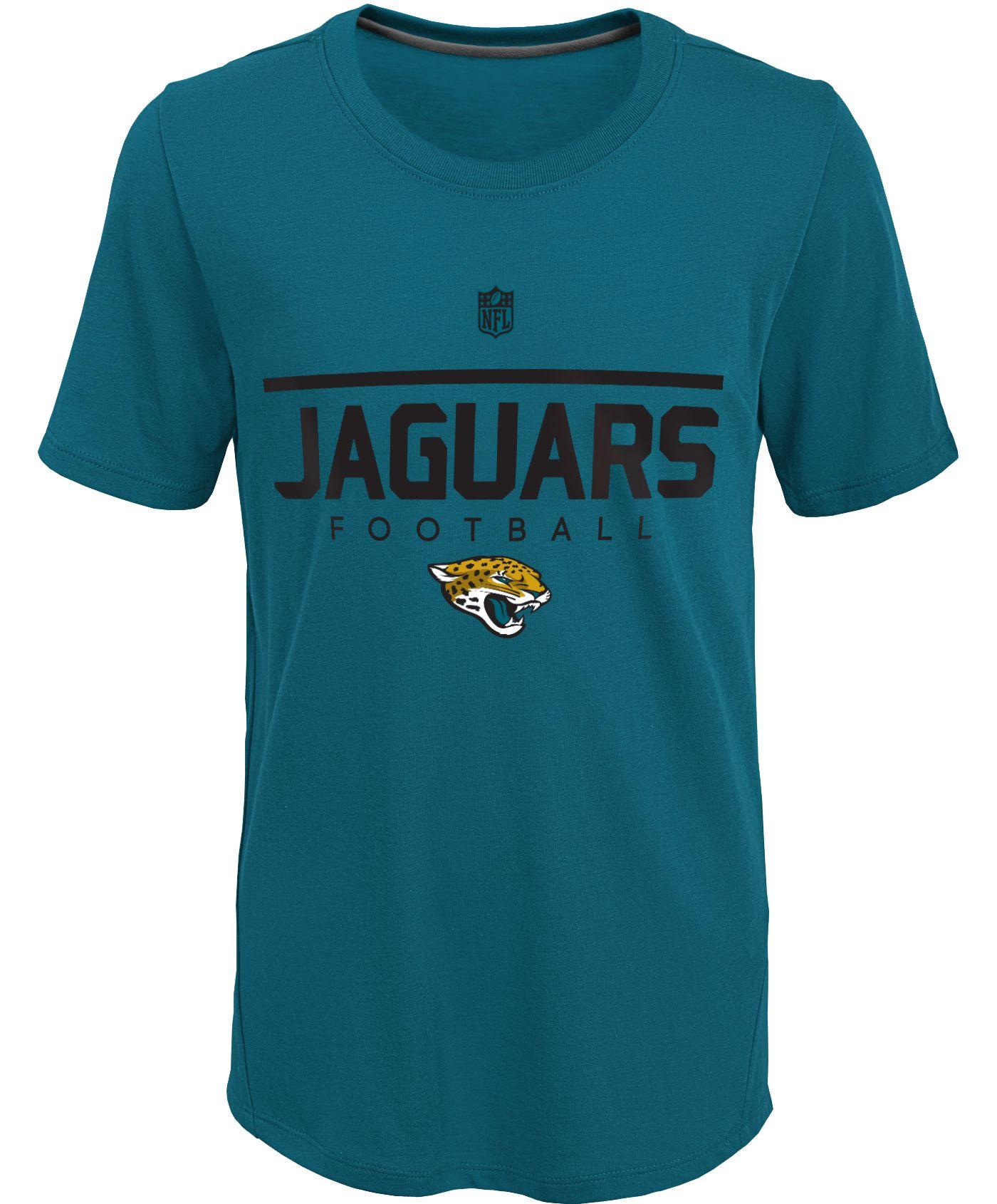 NFL Team Apparel Youth Jacksonville Jaguars Ultra Blue T-Shirt