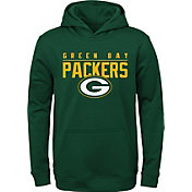 NFL Team Apparel Youth Green Bay Packers Pace Set Green Hoodie