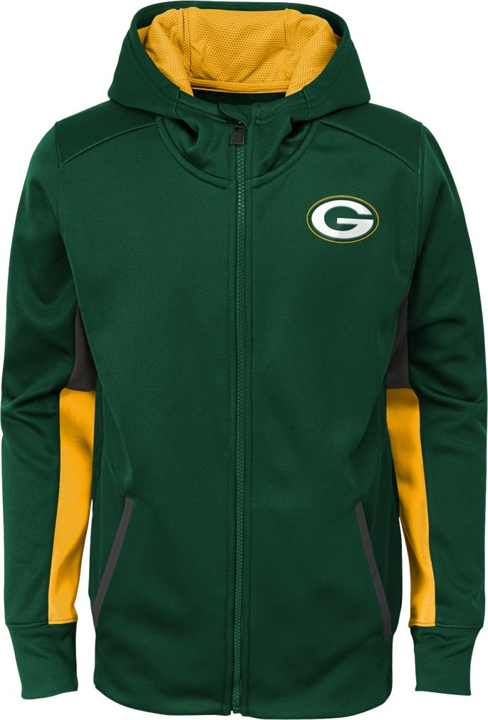 Details about Green Bay Packers Nike Team Sideline Full Zip