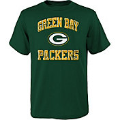 NFL Team Apparel Youth Green Bay Packers Power Green T-Shirt