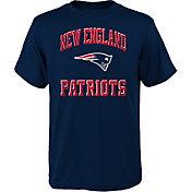 NFL Team Apparel Youth New England Patriots Power Navy T-Shirt