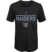 NFL Team Apparel Youth Las Vegas Raiders Ultra Black T-Shirt