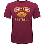 NFL Team Apparel Youth Washington Redskins Big Game Tri-Blend Red T-Shirt