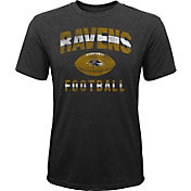 NFL Team Apparel Youth Baltimore Ravens Big Game Tri-Blend Black T-Shirt