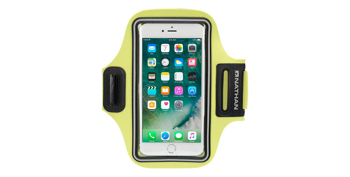 Nathan Adult Stridesport Smartphone Carrier Running Armband