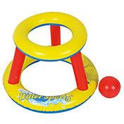 RhinoMaster Play Inflatable Mini Splashketball Toy Hoop with Ball