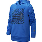 New Balance Little Boys' Block Logo Graphic Hoodie