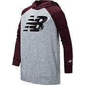 New Balance Boy's Logo Lightweight Hoodie