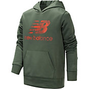 New Balance Little Boys' Logo Graphic Hoodie