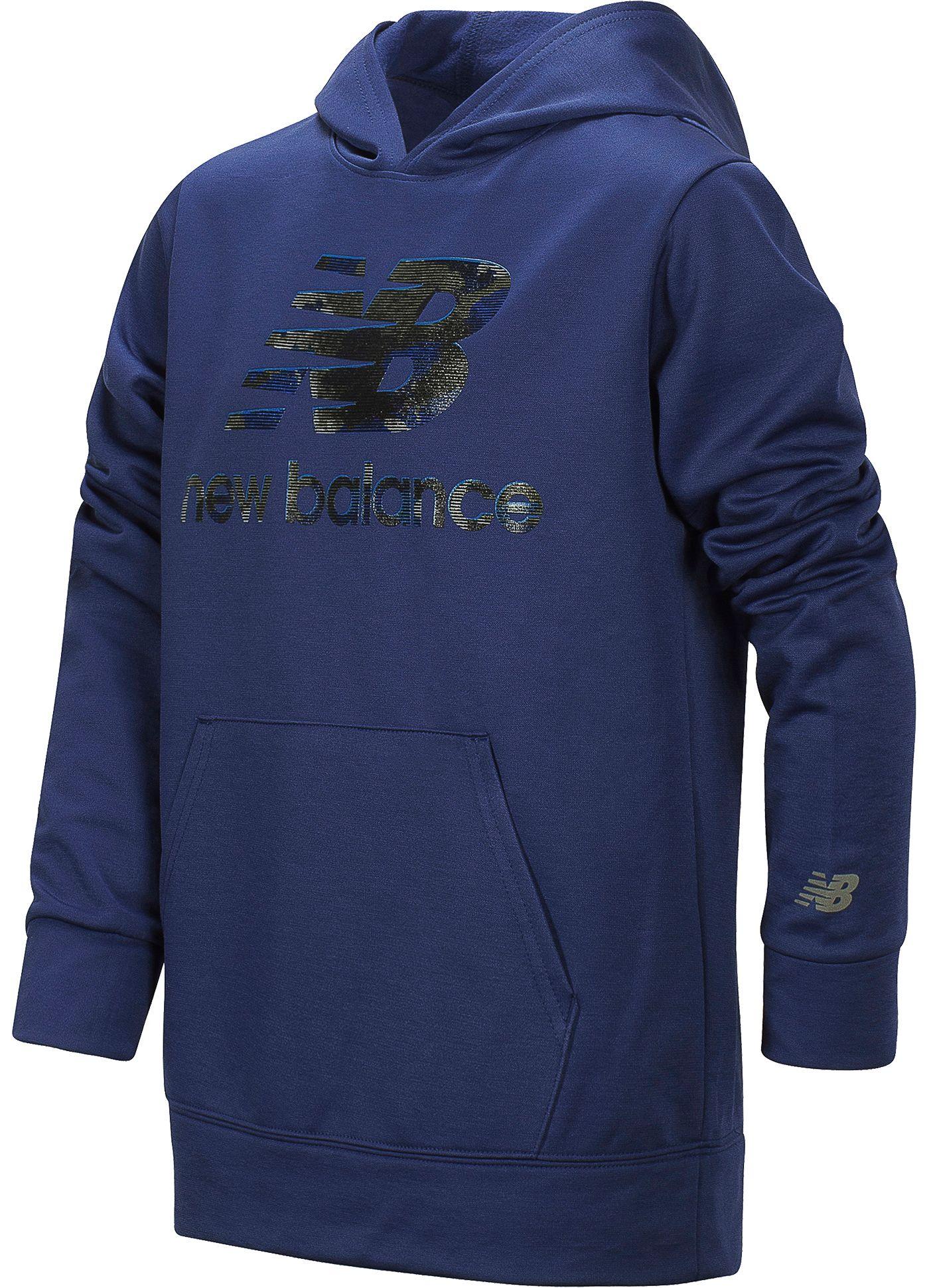 New Balance Little Boys' Logo Graphic Hoodie