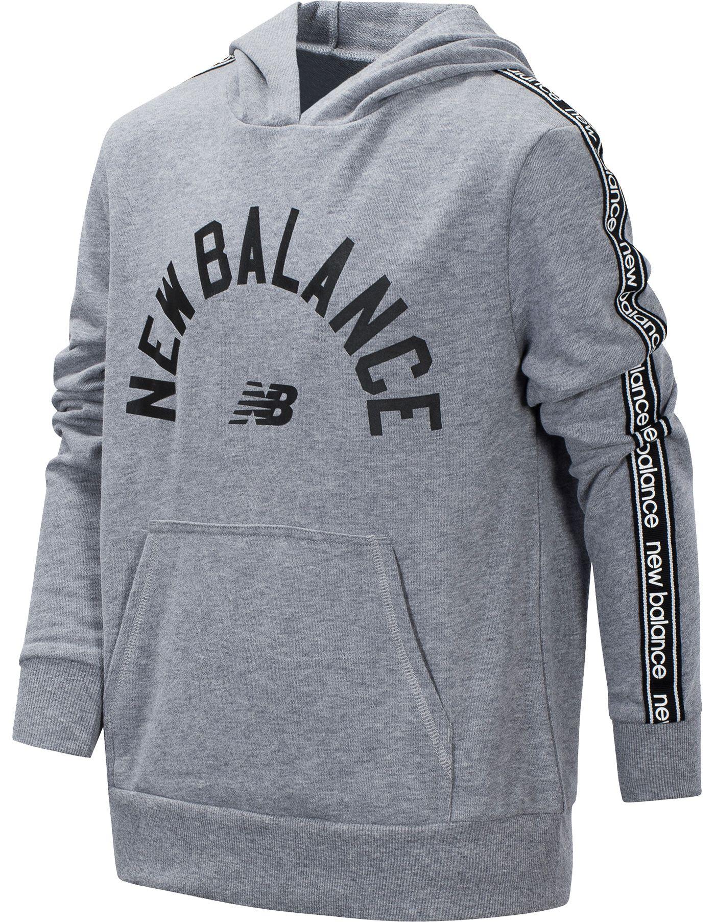 New Balance Little Boys' Wordmark Hoodie