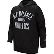 New Balance Little Boys' Wordmark Graphic Hoodie