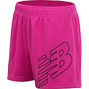 New Balance Girl's Core Logo Shorts
