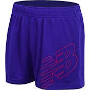 New Balance Girl's Core Logo Shorts