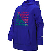 New Balance Girl's Screen Print Hoodie