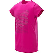 New Balance Little Girls' Silicone Graphic T-Shirt