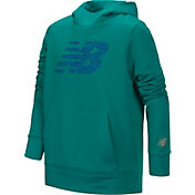 New Balance Little Girls' NB Logo Graphic Hoodie