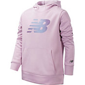 New Balance Little Girls' Logo Graphic Hoodie