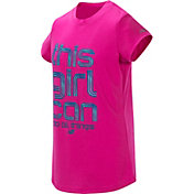 New Balance Little Girls' This Girl Can Graphic T-Shirt