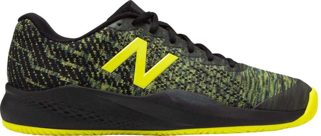 New Balance 996 Mens Black Yellow Grey White Shoes Free