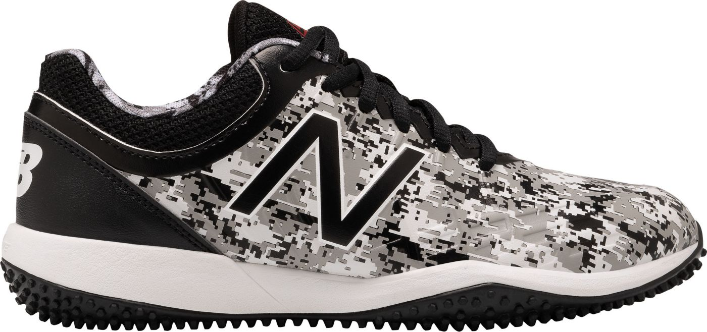 New Balance Kids' 4040 v5 Pedroia Turf Baseball Cleats