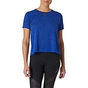 New Balance Women's Impact Run Mesh Short Sleeve Top