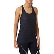 New Balance Women's Q Speed Breathe Stripe Tank Top