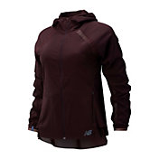 New Balance Women's Q Speed Run Crew Jacket