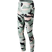 New Balance Women's Essentials Aqua Camo Leggings