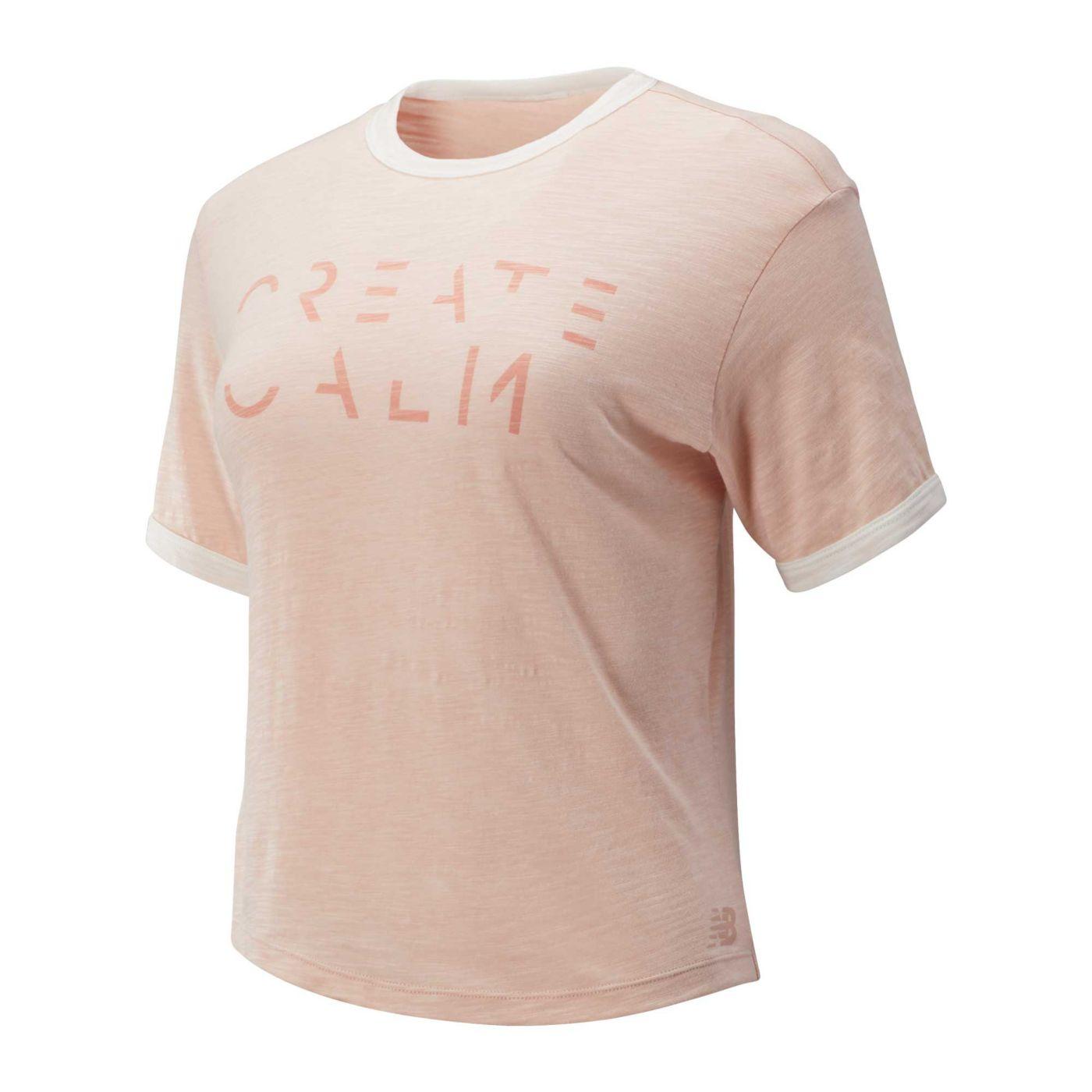 New Balance Women's Evolve Cropped T-Shirt
