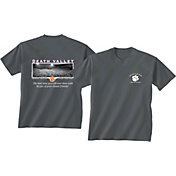New World Graphics Men's Clemson Tigers Grey Stadium T-Shirt